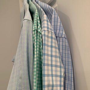 lot of 4 vineyard vines dress shirts